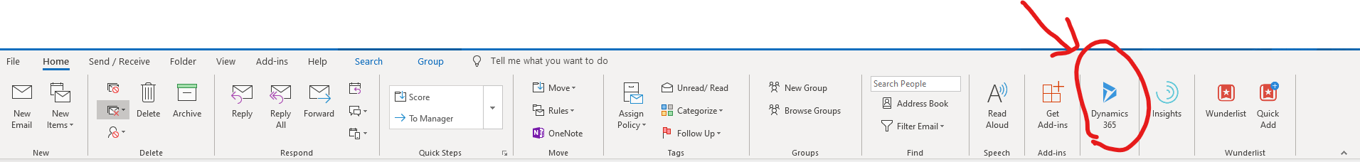 add contacts and leads 1 Increase Productivity with Dynamics 365 App for Outlook