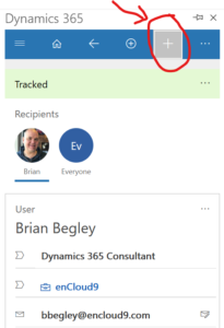 add contacts and leads 2 205x300 Increase Productivity with Dynamics 365 App for Outlook