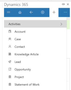 add contacts and leads 3 238x300 Increase Productivity with Dynamics 365 App for Outlook