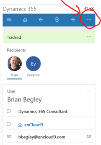 enCloud9 | Microsoft Dynamics 365 CRM Consultants Increase Productivity with Dynamics 365 for Outlook App Dynamics 365 app for Outlook Dynamics 365 Fundamentals
