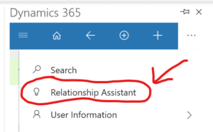 relationship assistant 3 300x186 Increase Productivity with Dynamics 365 App for Outlook