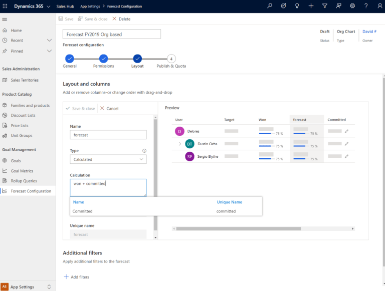 Dynamics 365 | forecasting | Dynamics365support.com | enCloud9 | Features to be excited about